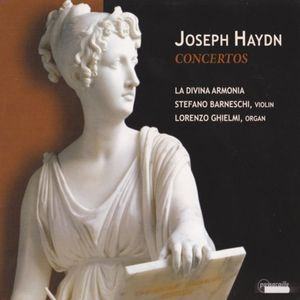 Haydn Concertos Divina Armonia cover 2