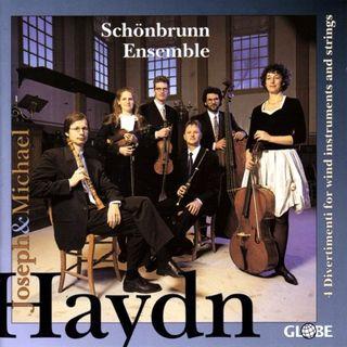 Haydn J & M Divertimentos Schönbrunn Ens cover