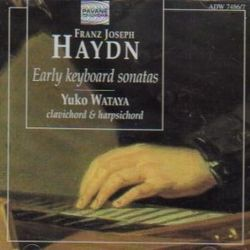 Haydn Keyboard Wataya Early Sonatas cover