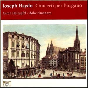 Haydn Organ Concertos Holzapfel cover