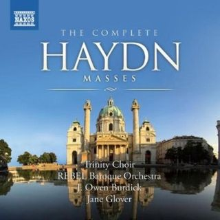 Haydn Complete Masses Naxos cover