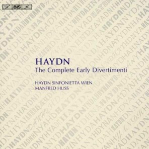 Huss Haydn Early Divertimenti cover