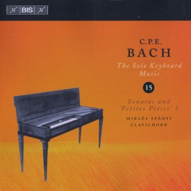 Bach CPE Keyboard Sonatas cover 15