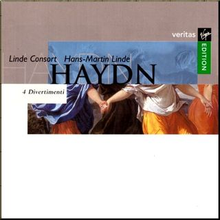 Haydn Linde Consort Divertimentos cover