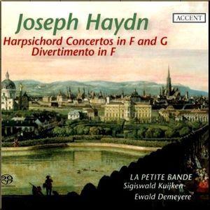 Haydn Divertimentos Le Petite Bande Kuijken